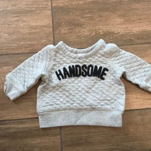 Gap Handsome Sweatshirt in 3-6 Months